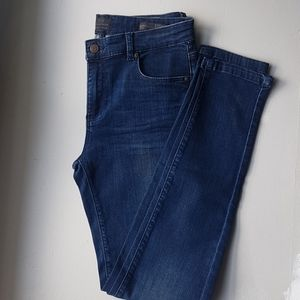 """Tailor Made """"Sydney"""" blue mid rise skinny jeans"""